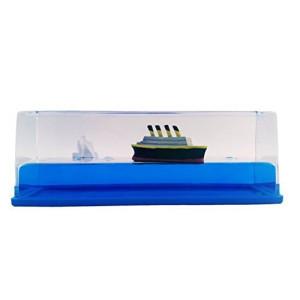 Universal Specialties Titanic Liquid Wave Paperweight Desk Toy