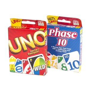 Maven Gifts: Phase 10 Card Game with UNO Card Game