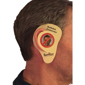 Ear No Evil, Obama BS Ear Protectors, Instant Relief from the Political Bull