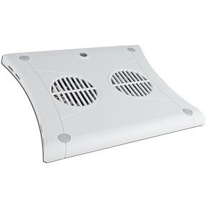 Targus PA248U3W Chill Mat Notebook Cooler Pad w/2 80mm Fans (White) - Keep your Notebook or Netbook Cool!