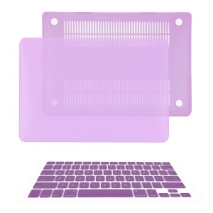 TOP CASE TopCase 2 in 1 Rubberized PURPLE Hard Case Cover and Keyboard Cover for Macbook Pro 13-inch (A1278