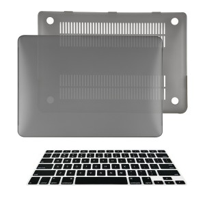 TOP CASE TopCase 2 in 1 Ultra Slim Light Weight Rubberized Hard Case Cover and Keyboard Cover for Macbook P
