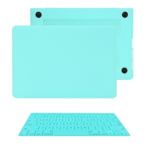 "TOP CASE TopCase 2 in 1 Retina 13-Inch HOT BLUE Rubberized Hard Case Cover for Apple MacBook Pro 13.3"" wit"