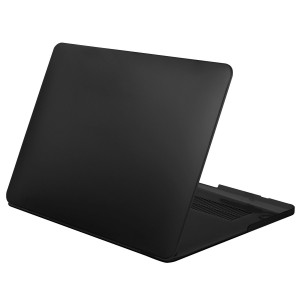 Mosiso Soft-Touch Plastic Hard Case for MacBook Pro 13.3- Inch with Retina Display - Black