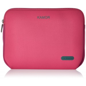 Kamor 13 13.3 14 inch Water-resistant Neoprene Laptop Sleeve Case Bag/Notebook Computer Case/Briefcase Carrying Bag/Skin Cover for Acer/Asus/Dell/Fujitsu/Lenovo/HP/Samsung/Sony/Toshiba(Rose)