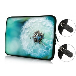 """Colorfulbags Universal Dandelion 9.7"""" 10"""" 10.1"""" 10.2"""" inch soft Neoprene Laptop Netbook Tablet Case Sleeve Bag Cover Pouch For Apple iPad 2, 3, 4 5 air and Most Dell HP ASUS Toshiba Samsung Tablet Computer up to 10.2 Inch"""