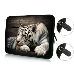 """Colorfulbags FBAps17-006 NEW Art design cool tiger 16"""" 17"""" 17.1"""" 17.3"""" 17.4"""" inch soft Neoprene Notebook C"""