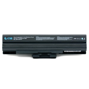 CSEXCEL New Laptop Replacement Battery for Sony SR Series VAIO FW VGP-BPS13 series VGP-BPS13/Q VGP-BPS13A/Q VGP-BPS13B/Q VGP-BPL13 VGP-BPS13A/B VGP-BPS21B Laptop Notebook Computer [6-Cell 11.1V 5200mAh 58Wh] - 12 Months Warranty