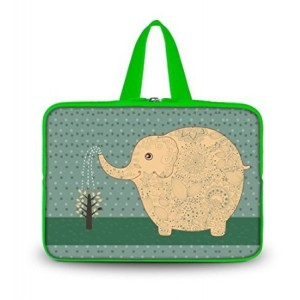 "Colorfulbags OHS13-014 NEW Fashion Elephant 12.5"" 13"" 13.1"" 13.3"" inch Laptop Netbook Computer Tablet PC so"