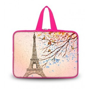 "Colorfulbags OHS17-004 New Fashion Arts Design Eiffel Tower 16""/ 16.5""/ 17"" / 17.3""/17.4"" inch Netbook Tab"