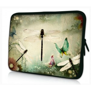 ProfessionalBags Universal 12 inches Laptop Netbook Bag Sleeve Case Cover for 11.6 12 12.1 12.2 inch Apple HP DELL Acer Samsung ASUS Notebook Tablets,Dragonfly
