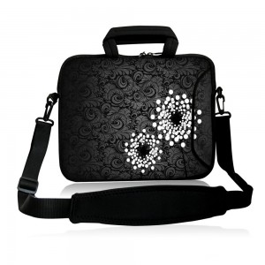 """Colorfulbags Universal Mens 13"""" 13.1"""" 13.3"""" inch soft Shoulder Bag Neoprene Laptop Netbook Tablet Case Sleeve Bag Cover Pouch With Pockets For Apple Macbook Pro Retina Air 13.3 and Most Dell HP ASUS Toshiba Samsung Tablet Computer up to 13.3 Inch"""