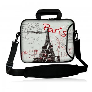 """Colorfulbags Fshb17-017 NEW Art Fashion Paris 16"""" 16.5"""" 17"""" 17.1"""" 17.3"""" 17.3"""" inch Laptop Notebook Comput"""