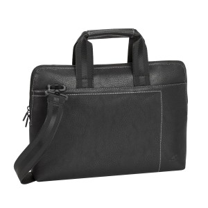 "Rivacase 8920 Black Slim Laptop Bag 13.3"" for Macbook Pro and Air 13.3"""