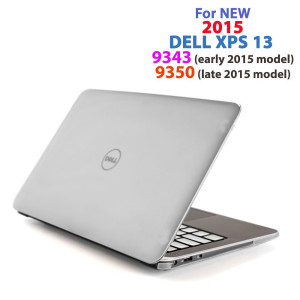 "mCover  CLEAR iPearl mCover Hard Shell Case for 13.3"" Dell XPS 13 9343 / 9350 model(released after Jan. 2"