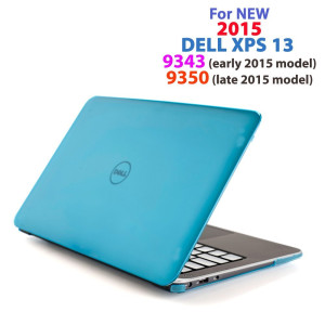 """mCover  Aqua iPearl mCover Hard Shell Case for 13.3"""" Dell XPS 13 9343 / 9350 model(released after Jan. 20"""
