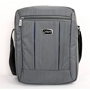 Bipra 10.2 Netbook Messenger Bag Compact Suitable for 10.2 Inch Devices Netbook Laptop Computers, Tablets, iPad , iPad Mini (Grey)