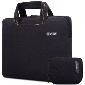 BRINCH(TM) Brinch Unisex 15-15.6 Inch Laptop Messenger Bag with Accessory Bag for Apple, Acer, Asus, Dell, Fu