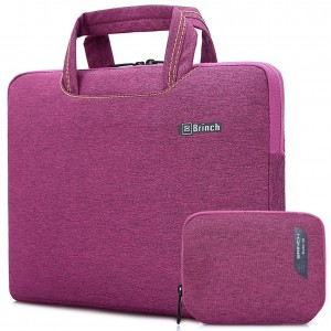 BRINCH(TM) Brinch 15, 15.6-Inch Waterproof Laptop Case Bag with Handle for Apple Macbook, Chromebook, Acer, A