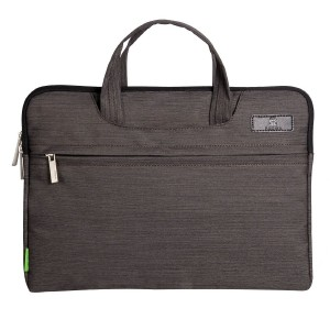 Padwa Lifestyle Denim Fabric 13 Inch Pouch Soft Sleeve Carrying Briefcase Bag Case with Handles Zipper for Laptop / Notebook Computer / MacBook / MacBook Pro / MacBook Air