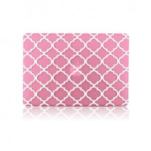 "TOP CASE TopCase - Apple the New Macbook 12-Inch 12"" Retina Display Laptop Computer Quatrefoil / Moroccan"