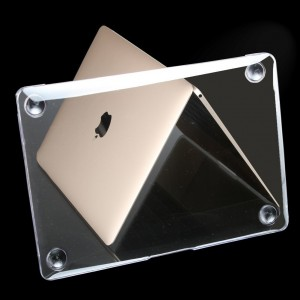 "Millimeter New Apple Macbook Case 12"" A1534 with Retina Display (2015 Release ) Transparent Mac 12 inch case Clear Crystal Cover Antiscratch Shell 2016 Rose Golden Shell Sleeves Covers"