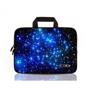 iColor -Fashion Starry 13-13.3 Inch Laptop Netbook / Notebook Computer / MacBook Air / MacBook Pro Case Briefcase Bag Pouch Sleeve Carry Case (IHB13-003)
