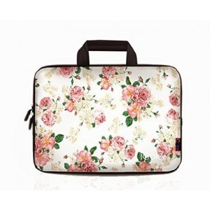 iColor -Fashion Floral 13-13.3 Inch Laptop Netbook / Notebook Computer / MacBook Air / MacBook Pro Case Briefcase Bag Pouch Sleeve Carry Case (IHB13-007)