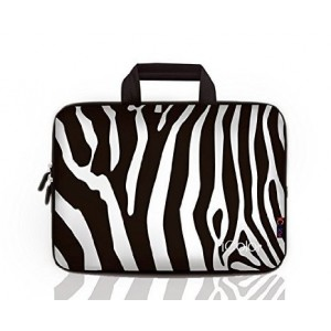 iColor -Fashion Zebra 13-13.3 Inch Laptop Netbook / Notebook Computer / MacBook Air / MacBook Pro Case Briefcase Bag Pouch Sleeve Carry Case (IHB13-014)