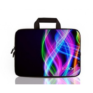 "iColor - Colorful 15""-15.6"" Inch Laptop / Notebook Computer / MacBook Air / MacBook Pro Case Bri"