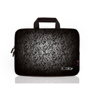 "iColor - Fashion 15""-15.6"" Inch Laptop / Notebook Computer / MacBook Air / MacBook Pro Case Brie"