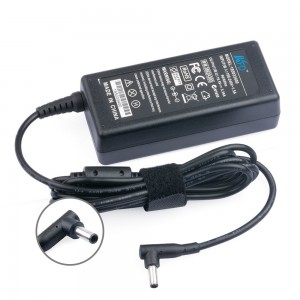 KFDtech Laptop Charger For Dell Inspiron i3147 i3148 i3157 i3451 i3458 i5755 i5758 i7347 i7348 i7352 i7437 i7558 Dell XPS 11 12 13 13D 18; XPS L221X L321X L322X HA65NS5-00 LA65NS2-01 PA-1650-02D4 65W