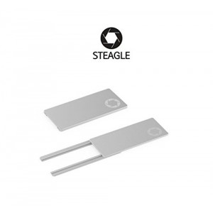 STEAGLE (Silver) Laptop Webcam Privacy Shield Cover for notebook laptop camera blocker