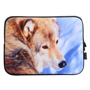 """Wolf iColor 11.6""""-12"""" inch Laptop Neoprene Sleeve Case Bag Cover for New Macbook Retina, Microsoft Surface Pro 3, Samsung, ASUS, HP, Dell, Toshiba, Lenovo(IPS12-01)"""
