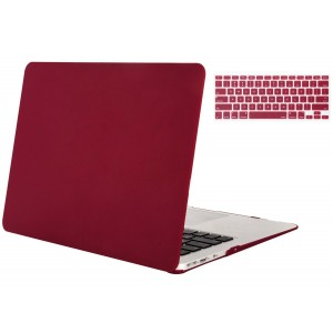 """Mosiso MacBook Air 11"""" 2 in 1 Soft-Touch Plastic Hard Case and Keyboard Cover for MacBook Air 11."""