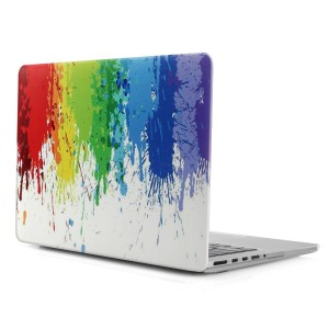 """iDOO Hard Case { For MacBook Pro 13 inch - With CD Drive: A1278 } - """"Paint Splash"""" Pattern"""