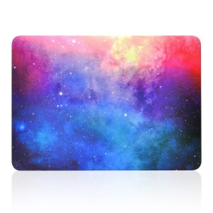"""TOP CASE TopCase Air 13-Inch Pink Galaxy Graphic Rubberized Hard Case for MacBook Air 13"""" Model A1369 and"""