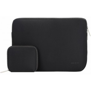Mosiso MacBook Sleeve, Water Repellent Neoprene Case Bag Cover Only for New MacBook 12 Inch with Retina Display with a Small Case, Black