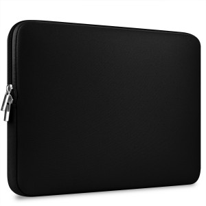 "CCPK 13 Inch Laptop Sleeve 13.3 Inch Macbook Air / Pro / Retina Display 12.9 Inch iPad Case Bag for 13"" Apple / Samsung / Sony Notebook, Neoprene, Black"