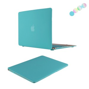 MacBook Retina 12 Case, Vimay 2 in 1 12-Inch with Retina Display Laptop Computer A1534 [2015 Release] Hard Shell Protective Case with Free Silicone Keyboard Cover, Smooth Matte Finish, Hot Blue