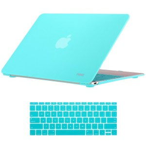 Noot Macbook 12 inch Case Soft Finish Protective Hard Slim Case with Keyboard Cover for Apple New Macbo