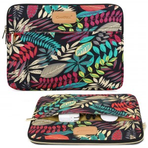 CoolBell(TM) CoolBell 13.3 Inch Laptop Sleeve Case Cover With Colorful Leaves Pattern Ultrabook Sleeve Bag For