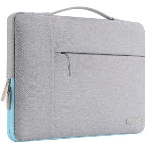 Mosiso Laptop Sleeve Multifunctional Case Cover for 12.9 iPad Pro,13.3 Inch Laptop,Notebook,MacBook Air/Pro Carrying Protector Briefcase Handbag,Gray