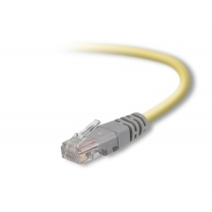 Belkin 50-Foot CAT5e Crossover Molded Networking Cable (Yellow)