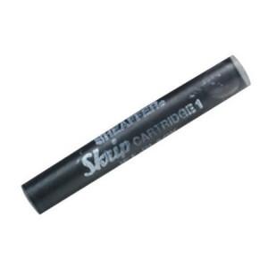 Sheaffer(R) Pen Refills, Ink Cartridges, Jet Black, Pack Of 5