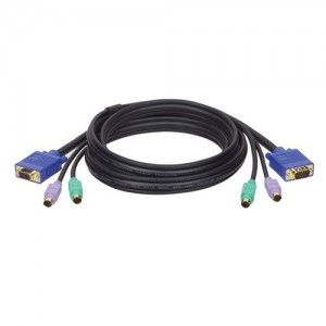 Tripp Lite P753-006 KVM PS/2 Slim Cable Kit for B005-002/4 and B007-008 - 6ft