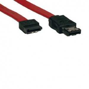 Tripp Lite SATA to eSATA Transition Cable (7Pin/7Pin) 3-ft.(P952-003)