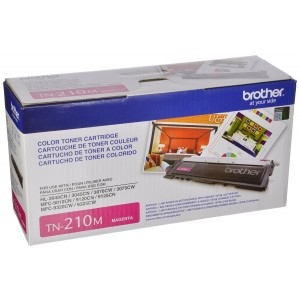 Brother TN-210M Toner Cartridge - Retail Packaging - Magenta