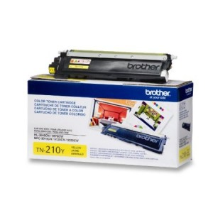 Brother TN-210Y Toner Cartridge - Retail Packaging - Yellow