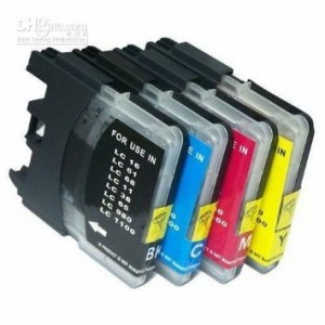 Unknown 25 Pack Brother Compatible LC 61 10 -Black / 5 Cyan / 5 Magenta / 5 Yellow ink